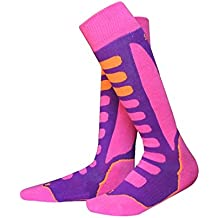 Barrageon Calcetines de Esquí de Invierno Térmico Calientes para Snowboard, Ciclismo, Trekking, Calcetine
