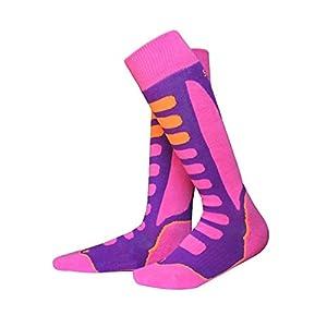 41SE2fRhisL. SS300 Barrageon Calze da Sci Termiche Calde per Sci, Snowboard, Arrampicata, Ciclismo, Trekking, Calze da Sport Invernali…