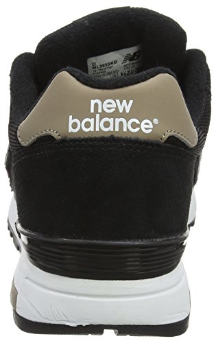 New Balance Herren M565 Classic Laufschuhe, Grau Schwarz (Black)