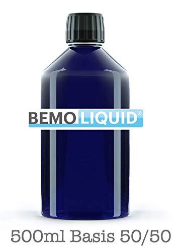 Basisliquid zum mischen von Liquid + Spritze + Mischanleitung - 500 ml, Basis Liquid 0,0 mg Nikotin