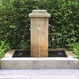 Gartentraum Antiker Gartenspringbrunnen - Sarano, Ocker