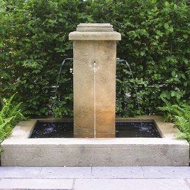 Sogno antico da giardino fontana da giardino–sarano, colore: ocra
