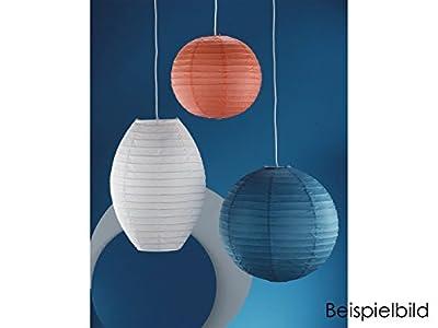 Lampenschirm/Lampion -Japan-Kugel-, Ø 40cm, Papier orange von Trio auf Lampenhans.de