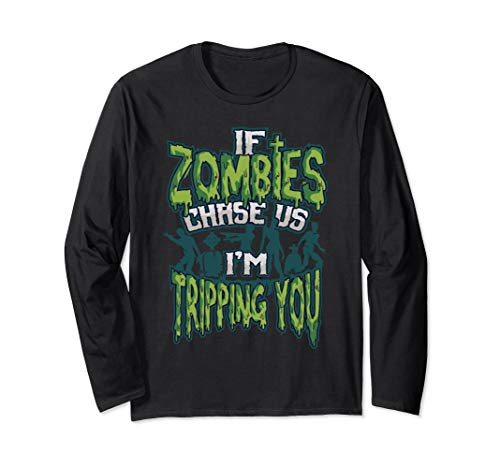 Der Kostüm Armee Untoten - Gruselig Halloween Untote Zombie Sprüche Langarmshirt