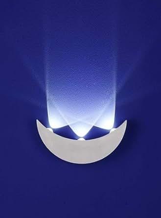 led wandleuchte innen aussenleuchte up down alu 3x 1w led beleuchtung. Black Bedroom Furniture Sets. Home Design Ideas