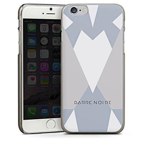 Apple iPhone 5 Housse étui coque protection Triangles Triangles Triangles CasDur anthracite clair