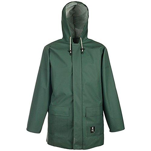 PROS Arbeitsjacke AJ-KW616 48-62 GRÜN Schutzjacke Schutzbekleidung Säureschutz Jacke