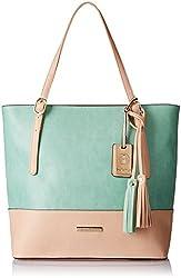 Stella Ricci Womens Shoulder Bag (Green) (SR206GRN)