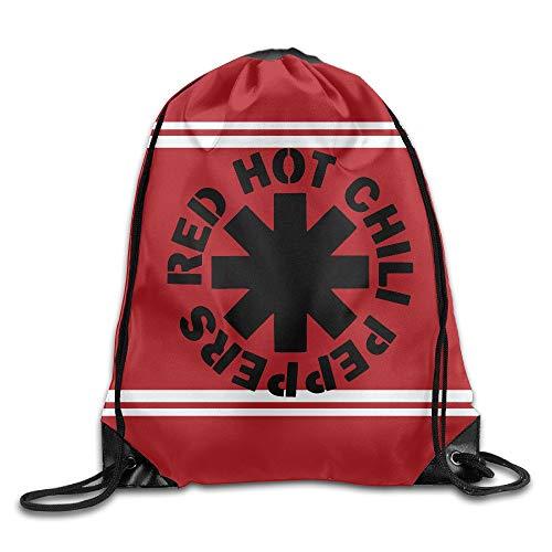 HLKPE RHCP Red Hot Chili Peppers Drawstring Backpack Sack Bag/Travel Bag