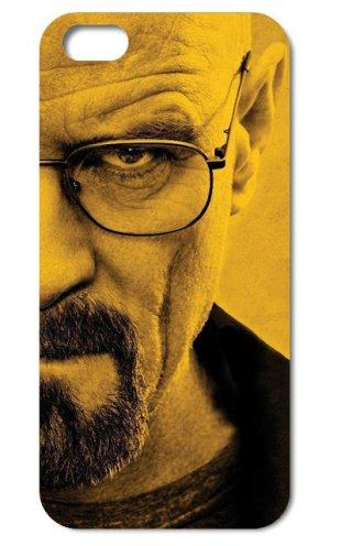 NdB 1365 - Cover Case Custodia per iPhone 4 e 4S Stampa Walter White Heisenberg Nera BrBa - Rigida