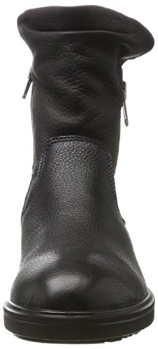 Ecco Damen Zoe Biker Boots Schwarz (Black/Black)
