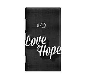 love and hope hard plastic back case cover for nokia lumia 920