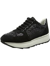 Geox D Ophira B, Sneakers Basses Femme, Marron (Cream), 36 EU