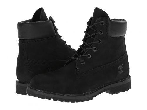 "Timberland Icon Collection Premium Boots Women 6"" Black Nubuck Schuhgröße US 6,5   EU 37,5 2018 Schuhe"