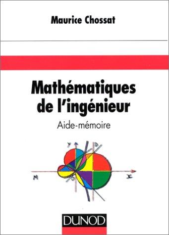 Aide mémoire de mathématiques de l'ingénieur