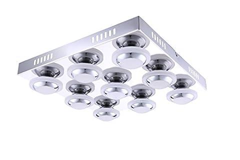 WOFI plafonnier - 9 lumières collection carter 9 x lED