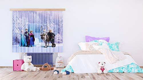 Tende Per Camera Bambini : Ag design tende disney frozen tende per camera bambini