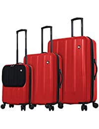 Denco 2-Piece Luggage Set Red