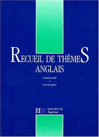 Recueil de thèmes anglais