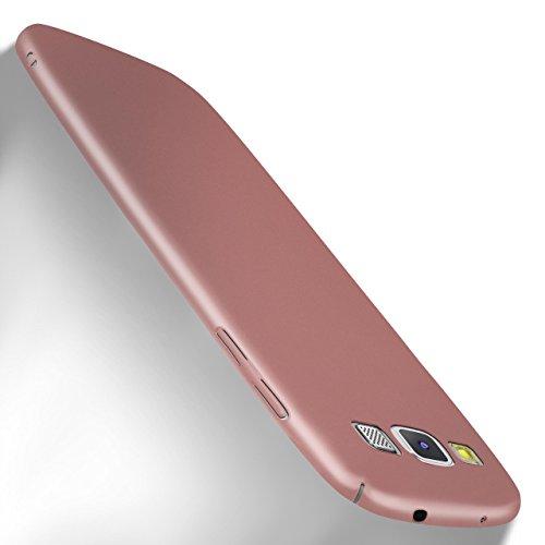 MoEx Samsung Galaxy S3 Hülle Rose-Gold OneFlow Alpha Back-Cover TPU Schutzhülle Dünn Handyhülle für Samsung Galaxy S3/S III Neo Case Ultra-Slim Thin Skin Handy Schutz Rückseite