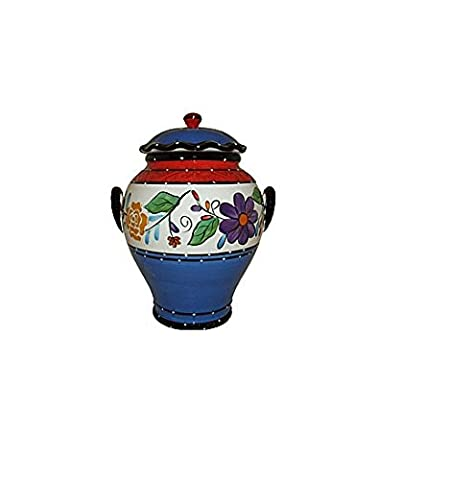 Viva Collection Deluxe Hand-Painted Cookie Jar