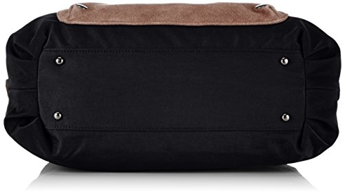 Sansibar Colla B-476 CO 01, Borsa a mano Donna Nero (Schwarz (black))
