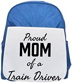 Proud Mom of a Train Driver printed kid's Bleu  backpack, Cute backpacks, cute small backpacks, cute Noir  backpack, cool Noir  backpack, fashion backpacks, large fashion backpacks, Noir  fashion backp | Outlet
