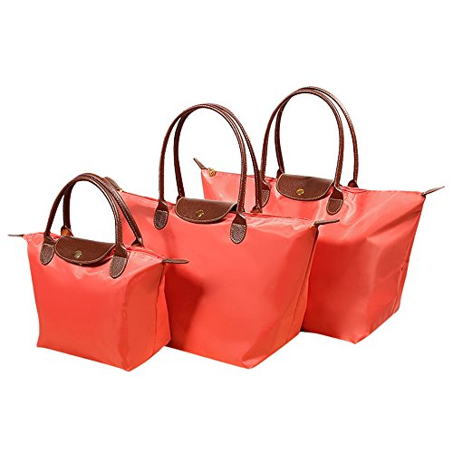 Fletion, Borsa tote donna Orange