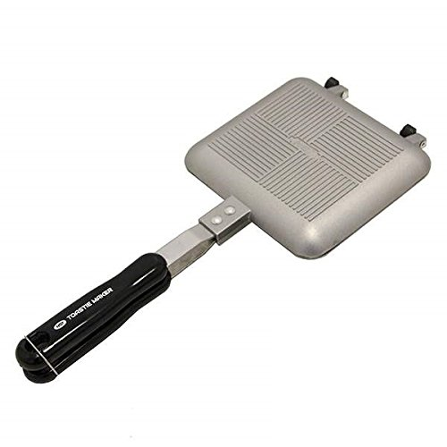 NGT touster toastie Maker Grille-Pain, Argent, M