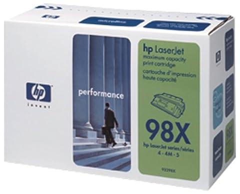 HP 92298X Hochleistungs-Druckkassette schwarz (8.800 Seiten)