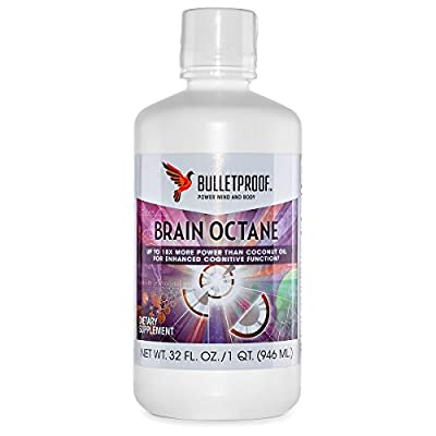 Bulletproof® Upgraded Brain Octane Oil (32oz) from Bulletproof Nutrition, Inc.