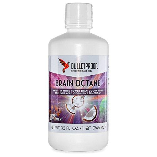 Bulletproof Upgraded Brain Octane Oil (C-8 MCT Öl, 940 ml)