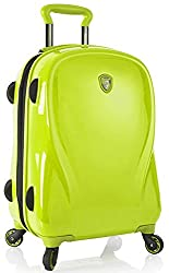 Electric Lime: Heys America Xcase 2g 21 Carry On
