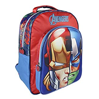 41SEF8lYvLL. SS324  - Avengers CD-21-2112 2018 Mochila Infantil, 40 cm, Multicolor