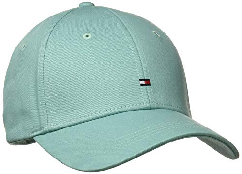 Tommy Hilfiger Damen Classic BB Baseball Cap, Blau (Aqua Haze 409), One Size (Herstellergröße: OS)