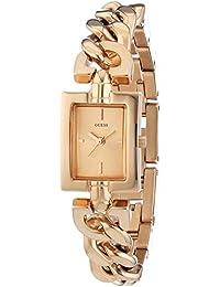 Guess Damen-Armbanduhr XS Analog Quarz Edelstahl beschichtet W0437L3