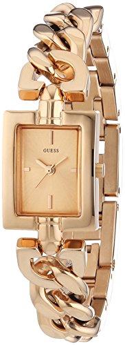 Guess Damen-Armbanduhr XS Analog Quarz Edelstahl beschichtet W0437L3 (Guess Watch Damen)