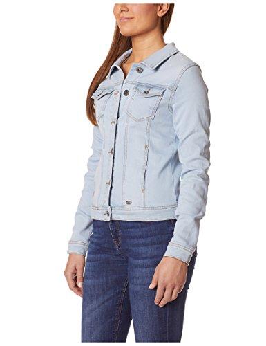 Berydale Damen Jeansjacke mit modischer Waschung, Hellblau, Gr. 34 - 3