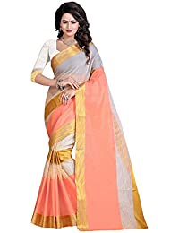 Sr Cotton Saree With Blouse Piece (Srstudio_Red_Free Size)