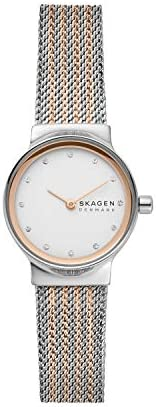 Skagen Freja Women's Silver Dial Stainless Steel Analog Watch - SKW