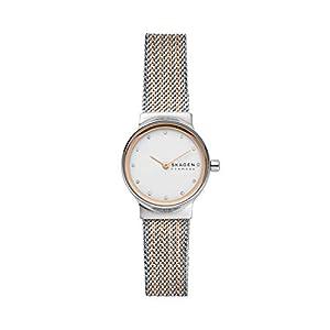 Skagen Women's Analog Quartz Watch with Stainless Steel Mesh Strap SKW2699