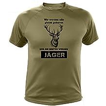 Lustiges Geschenk für Jäger Rehe einzeln - Jäger T shirt