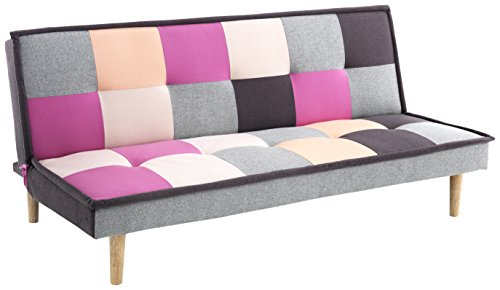 Wink Design, Smart, Divanoletto, Multicolore, 90 x 80 x 180 cm