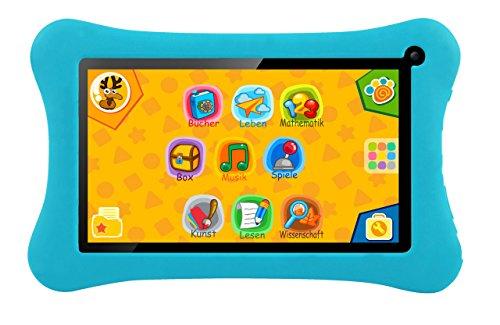 Preisvergleich Produktbild Kinder-Tablet mit 7-Zoll-Touchscreen, Android Jelly Bean, 8GB Speicher, WIFI und über 50 Lernspiele vorinstalliert