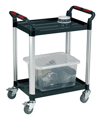 For Sale 5 Star Facilities Utility Tray Trolley Standard 2 Shelf Capacity 100kg Review
