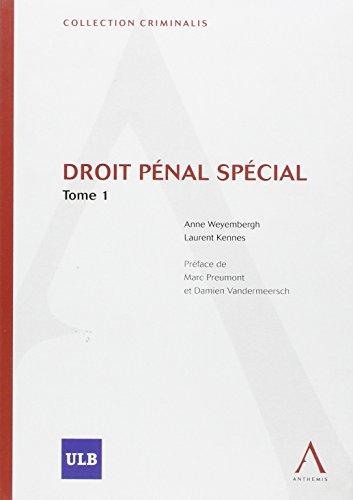 Droit Penal Special par Kennes l. W a.