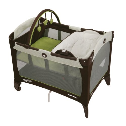 Graco Pack 'n Play Playard with Reversible Napper and Changer, Go Green by Graco (Baby-pack-n-play Graco)