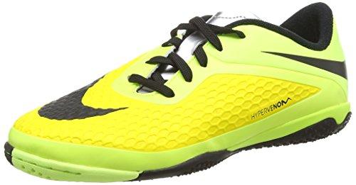 Nike Jr. Hypervenom Phelon Ic, Chaussures de Football mixte enfant Jaune (vibrant Yellow/blk-chrm-vlt Ic 700)