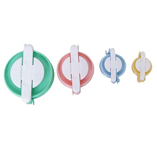 4 tamaños para hacer pompones pelotas de pelusas para tejer agujas de tejer accesorios de costura