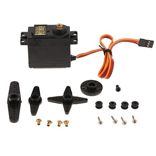 B Blesiya Motor Servo Dedicado Modelo Robot Engranaje